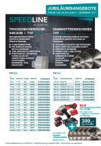 Trockenbohrkrone vakuum Typ SLV & Diamanttrennscheibe Typ SLF